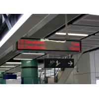Quality Excellent Visibility Rail Passenger Information System Installed At Station Entrance for sale