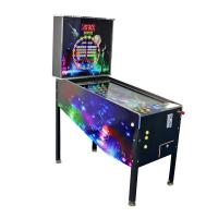 Buy cheap Wood Material Virtual Pinball Machine With 300+ Games Black Color from wholesalers