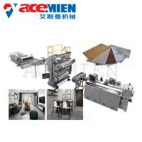 Buy cheap PVC Imitation Artificial Marble Making Machine Decoration With UV Coating product