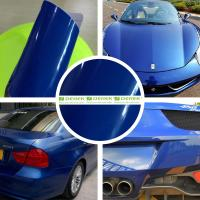 Buy cheap Glossy Car Wrapping Vinyl Films--Glossy Deep Blue product