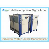 Buy cheap 21kw Air Cooled Water Chiller Food Grade Milk Chilling Plant with Ice Water Tank product