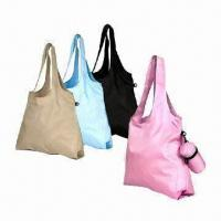 Buy cheap 100% Recycled Bag, Made of RPET Bottle Material, Foldable product
