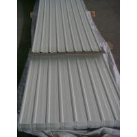 Buy cheap Prepainted Corrugated Steel Roofing Sheets 900mm for Protection Wall Fence product