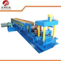 China Automatic C Type Quick Change Steel Purlin Roll Forming Machine Line on sale