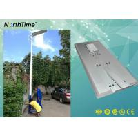 Buy cheap 80Watt Smart Phone APP Control LED Smart Solar Street Light With PIR For Bus from wholesalers