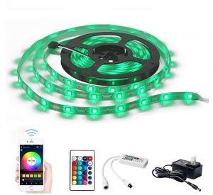 China Smart Wireless APP Controlled Light Strip Kit 25000 Hours Lifespan on sale