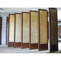 Buy cheap Easy Operate Soundproof Sliding Partition Walls , Multi Color Folding Room from wholesalers
