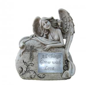 Buy cheap Customized Classical Angel Love Garden Solar Light Ball For Garden Ornaments product