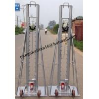 Buy cheap Best quality Hydraulic cable drum jack,Hydraulic lifting jacks for cable drums product