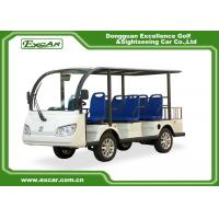 Buy cheap EXCAR 8 Seater Electric Sightseeing Car , 72V 7.5KW Trojan Battery Tour Bus from wholesalers