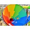 Buy cheap Fiberglass Tornado Water Slide Water Park Play Equipment Ashland GelCoat product