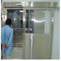 Buy cheap ISO 7 Energy Efficient Stainless Steel Air Shower Room With Automatic Slid Door product