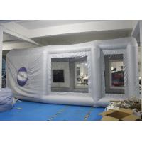 Buy cheap Durable Inflatable Spray Booth Reinforced Oxford Cloth Material CE / UL product