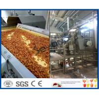 Buy cheap Fruit Processing Plant Juice Making Machine Orange Juice Extractor With Washing / Pulping System product