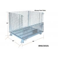 Gentil ... Quality 40x32x33 Inch Collapsible Metal Storage Containers , Industrial  Collapsible For Sale ...