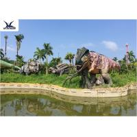 Buy cheap Lifesize Giant Colorful T Rex Lawn Ornament For Game Center / Amusement Park product