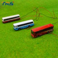 Buy cheap 1:150 model bus Toy Metal Alloy Diecast bus Model Miniature Scale model for train layout scenery product