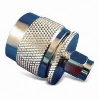Buy cheap SMA Plug RP to N Plug with Brass and Nickel-plated Body, Available in Various Specifications product