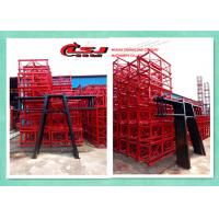 Quality Personnel And Materials Building Hoist / Industrial Lifts Elevators for sale