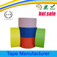 Buy cheap Automotive paint crepe paper colored masking tape product