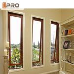 Buy cheap French Vertical Aluminium Double Glazed Awning Windows With Powder Coating product