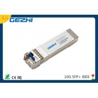 Buy cheap 10G date rate SFP BIDI TX1270nm / RX1330nm 20km Simplex LC connector product