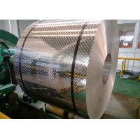 Buy cheap Weldable 5052 Diamond Plate Aluminum Sheets 1.0 - 8.0 Mm Thickness For Nameplates product