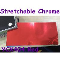 Buy cheap Stretchable Chrome Mirror Car Wrapping Vinyl Film - Chrome Red product