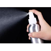 Buy cheap Fine Mist Sprayer Cosmetic Spray Bottle Aluminum Toner Sub Packaging 250ml product