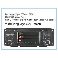 Buy cheap Stereo Viper Dodge DVD Player Car DVD GPS Navigation 2003 - 2012 CT1D-D8836C product