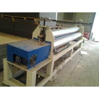 Buy cheap 120kw Plastic Auxiliary Equipment 3 Roller Rolling Plate Leveling Machine / Spiral Coil Winding Machine product