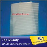 Buy cheap Polystyrene Aryclic PS 120x240cm 20 LPI 3mm Thickness Plastic Lenticular plate from wholesalers