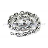 Buy cheap Custom Specialty Hardware Fasteners , Welded SUS316 Stainless Steel Twisted Link Chain DIN 764 product