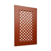 Buy cheap Ventilated Replacement Bathroom Cupboard Doors With Wood Grain Pvc Film Surface product