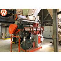 Buy cheap Rabbit Bunny Feed Pellet Production Line With Fodder Grinder Machine 200kw product