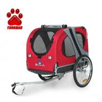 Buy cheap foldable bicycle pet trailer / pet product / bike dog trailer from wholesalers