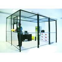2 sides wire mesh security partitions lockable storage cages powder rh wiremeshpartitionpanels wholesale wneducation com
