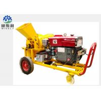 Buy cheap Mobile Modern Agriculture Machine , Fire Wood / Pallet Wood Chipper Machine product