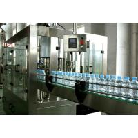 Buy cheap 3 In 1 Automatic Water Filling Machine 3000 Bottles Per Hour One Year Warranty product