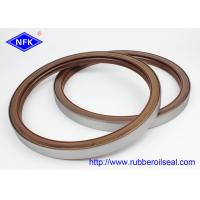 Buy cheap  Material ZAX850/ZX870 Rotary Shaft  Oil Seals Fluorine Adhesive Dustproof Lip BZ5284E product