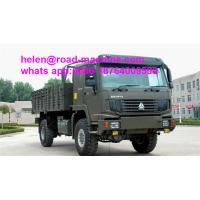 Buy cheap SINOTRUK HOWO heavy duty 371HP steyr engine 4x4 full road cargo truck from wholesalers