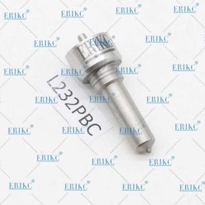Buy cheap ERIKC L052PBC L232PBC Fuel Injector Nozzle L232 PBC Diesel Engine Nozzle L232 PBC for Delphi Injector product