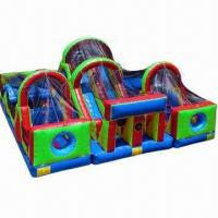 Buy cheap Combo Inflatable with Obstacle Cimbing Jumping Slide from wholesalers