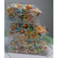 Buy cheap Acrylic Candy Display Cases ,3 Tier Stackable Bins With Scoop Holder product