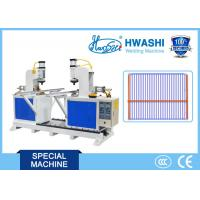 Buy cheap HWASHI Automatic Double Head T Type Pipe,Refrigerator Shelf Wire Frame T Butt Welding Machine product