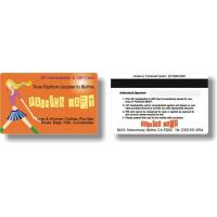 Buy cheap Plastic Magnetic Stripe Card - 1 product