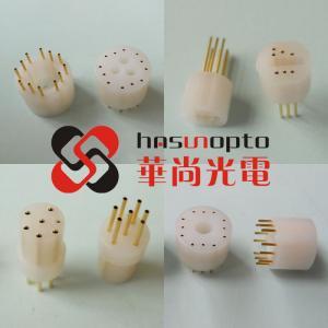 Buy cheap Aged test socket, transistor socket, uv flame detector socket, GD18 tube seat, GD708 uv flame detector socket product