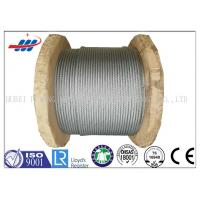 Buy cheap Galv Elevator / Aircraft Wire Rope Zinc Coated With 1570-1960MPA Tensile Strength product
