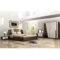 Buy cheap Turkish Style Full Bedroom Furniture Sets Corrosion Resistant With Melamine Finished product