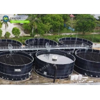 Buy cheap Glass Fused To Steel Effluent Treatment Tanks For Industrial Wastewater Treatment Projects product
